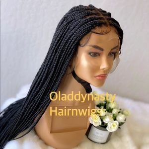 Knotless box braids full lace wig